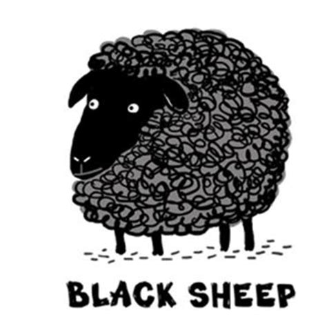 black sheep this or that or at work of black sheep and black swans