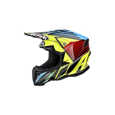 airoh motocross helmets uk airoh twist motocross helmet strange blue motorcycle