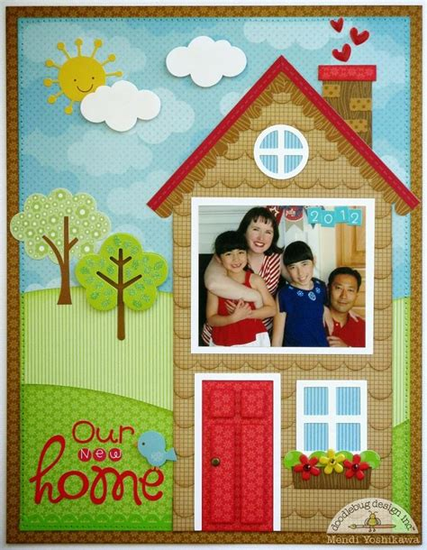 doodlebug house on 17 best images about scrapbook new home on