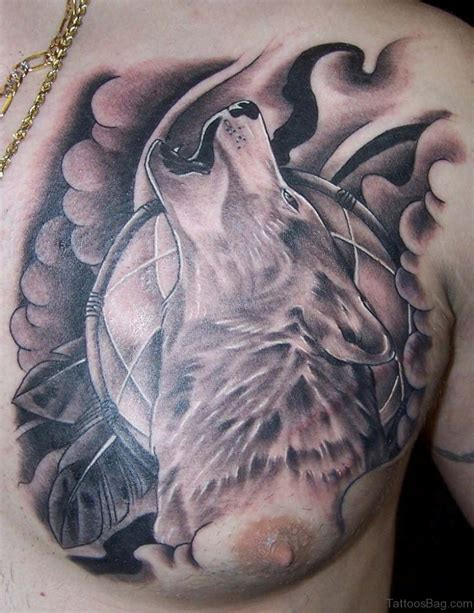wolf tattoo 50 magnificent wolf tattoos for chest