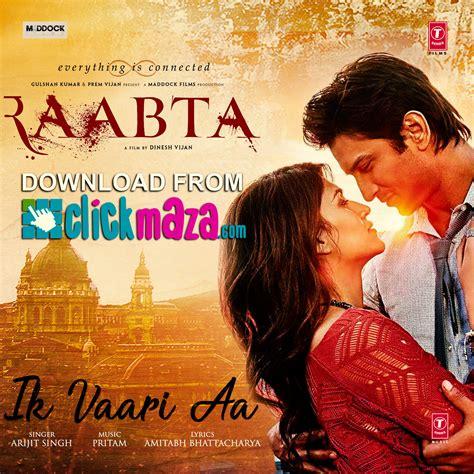 download mp3 from raabta ik vaari aa raabta arijit singh pritam 1 song