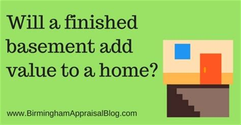will a finished basement add value to a home birmingham