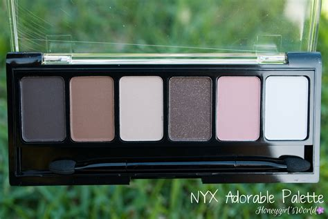 Nyx Adorable new nyx palettes bomb palette adorable palette and