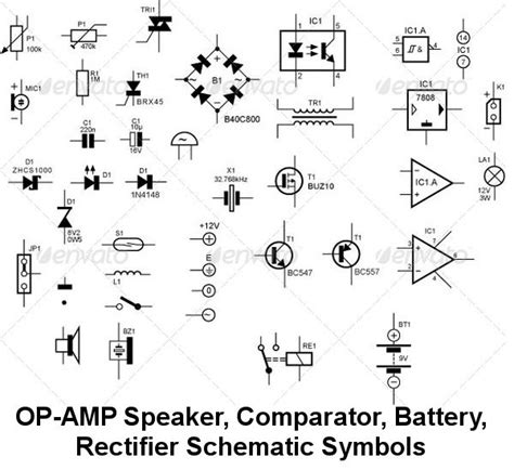 schematic diagram of electronic components circuit schematic symbols atmega32 avr
