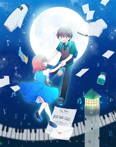I To The Moon to the moon zerochan anime image board