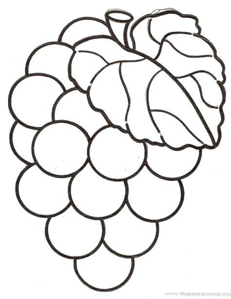 imagenes infantiles uvas dibujos para colorear de uvas infantiles images