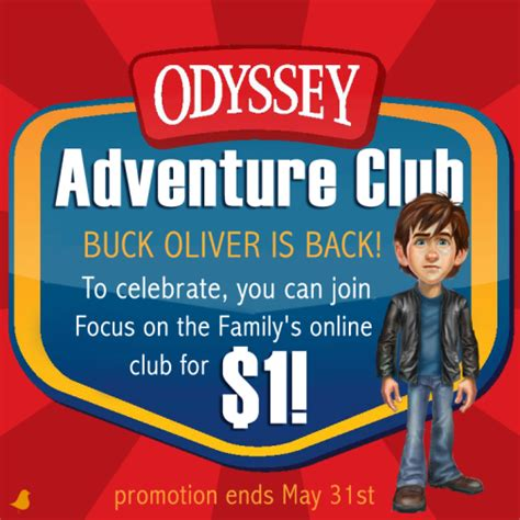 when does the summer reading challenge end join the odyssey adventure club for a quot buck quot plus a