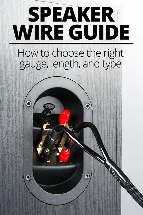 speaker wire   choose   gauge  type diy