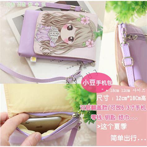tas selempang mini bag light purple
