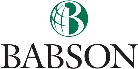 Mba Babson file babson college logo svg