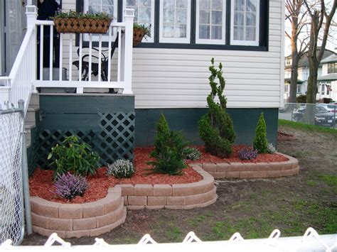 flower design house front of house flower bed designs