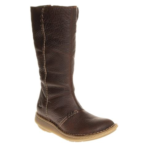 cheap womens brown dr martens new authentic wedge boots at