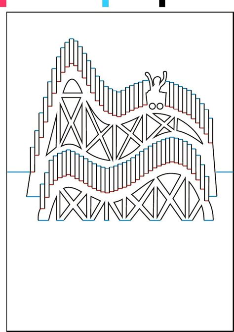 roller coaster pattern 1656 best images about i love scherenschnitte paper