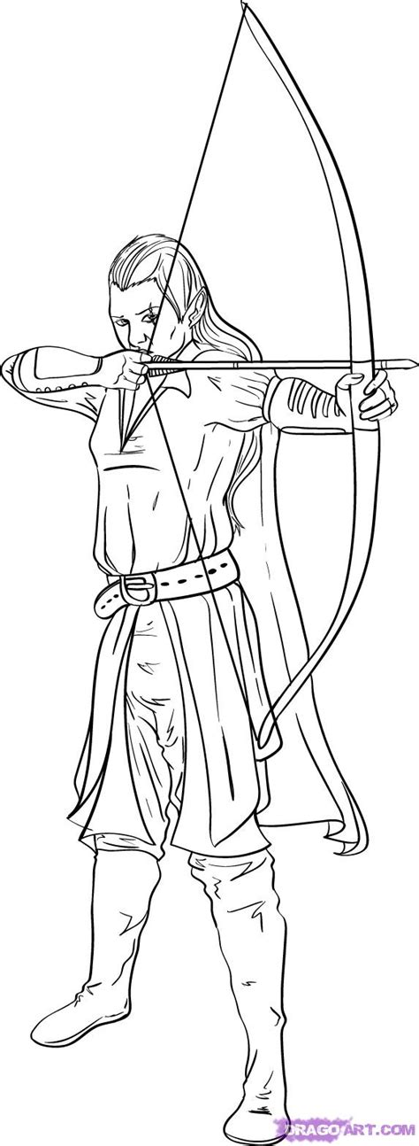 elf ears coloring pages how to draw an elf step by step elves fantasy free