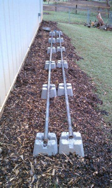 super easy diy outdoor firewood racks  garden glove