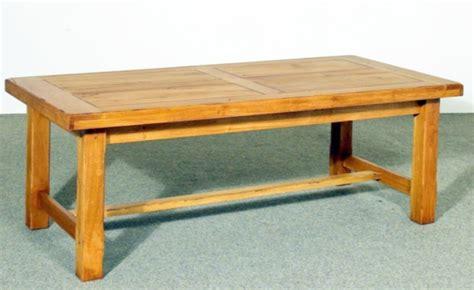 table en pin massif avec rallonge salle 224 manger rustique style contemporain ch 234 ne merisier
