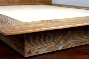 Reclaimed Wood Platform Bed Kempema Reclaimed Wood Platform Bed Mfeo
