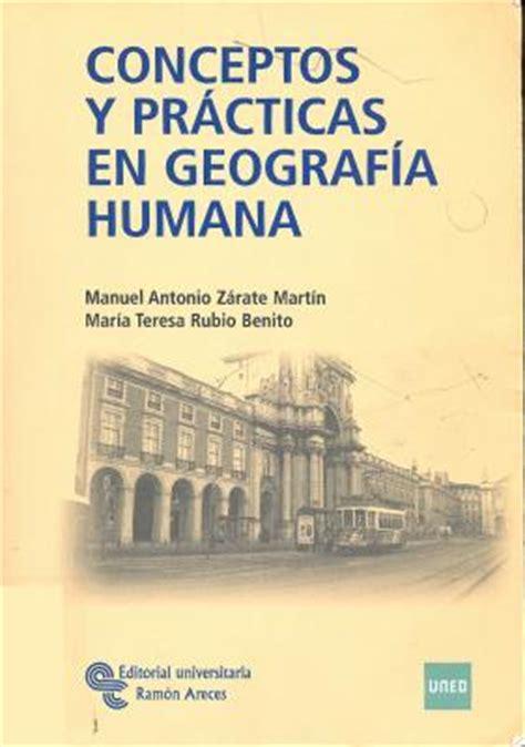 libro geografa humana libros de geografia humana pdf