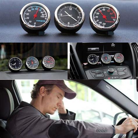 Interior Mobil Dekorasi Mobil Thermometer Dashboard Mobil Murah Bagu dekorasi mobil quartz clock black jakartanotebook