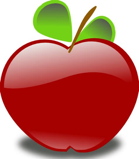 apple clipart apple clip at clker vector clip