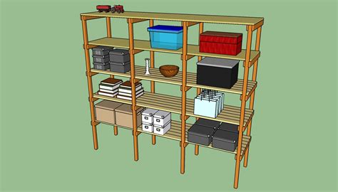 how to build storage shelves howtospecialist how to