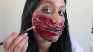 the walking dead halloween costumes party city zombie mouth halloween makeup tutorial the walking dead