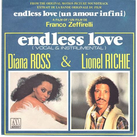 endless love musik zum film diana ross lionel richie endless love 7inch sp for
