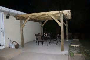 Building Pergolas by How To Build A Pergola In Two Days On A Budget Detailed