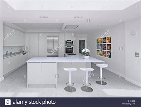 houses to buy in north london wood lane house a kitchen extension in north london white ultra stock photo royalty