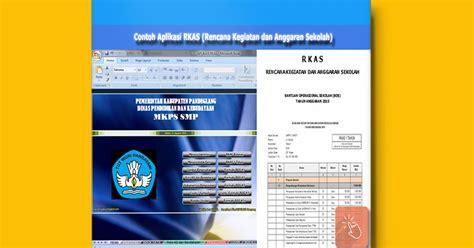 aplikasi untuk membuat jadwal kegiatan download contoh aplikasi rkas rencana kegiatan dan