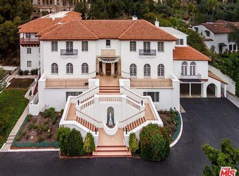 Classic Colonial Homes by 10 000 Square Foot Spanish Colonial Revival Mansion In Los