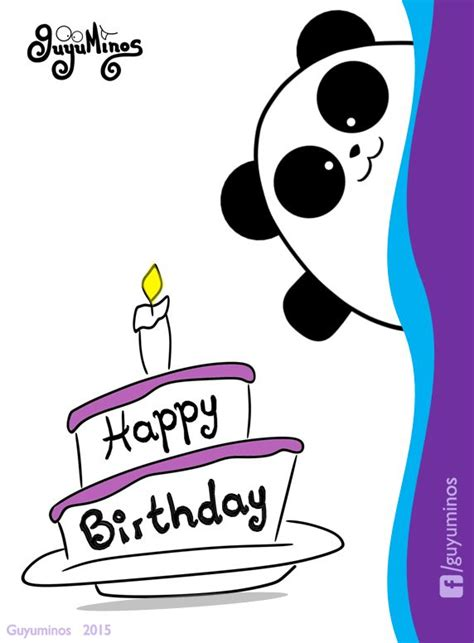 imagenws d panda feliz cumple hermana happy birthday feliz cumple