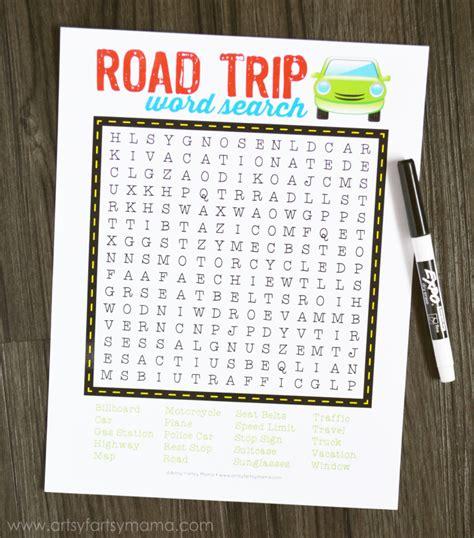 printable route planner usa 26 road trip printables for kids printable crush