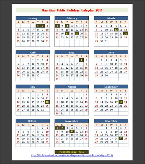 www calendar for 2017 in mauritius mauritius public holidays 2015 holidays tracker