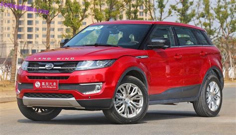 land wind x7 range rover clone landwind x7 gets a price in china