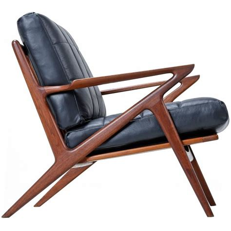 Z Chair Mid Century by Restored Mid Century Modern Z Chair At 1stdibs