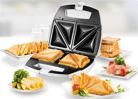 Toaster Sandwich unold 174 american sandwich toaster 48421