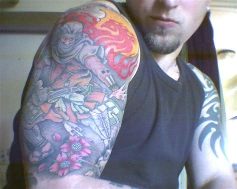japanese tattoo ninja japanese sleeve tattoo irezumi by choastheninja on deviantart