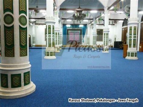 Karpet Masjid Warna Warni karpet sajadah masjid warna biru eksklusif dan elegan