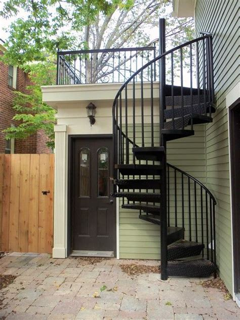 25 best ideas about exterior stairs on