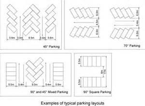 Parking Garage Design Standards Layout Of Parking Areas P A R K I N G D E S I G N