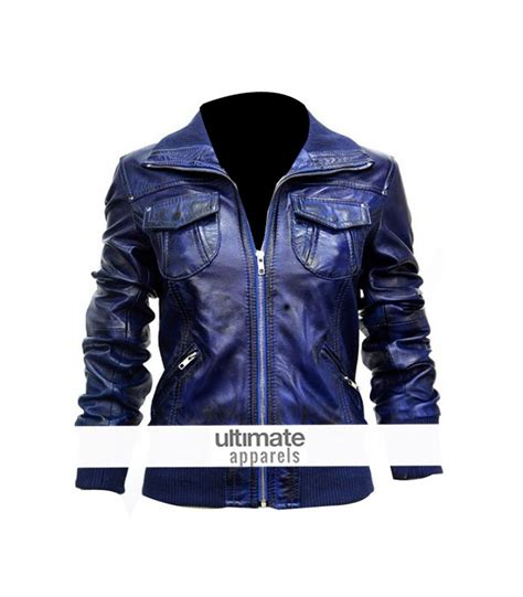 blue motorbike jacket blue leather motorcycle jacket cairoamani com