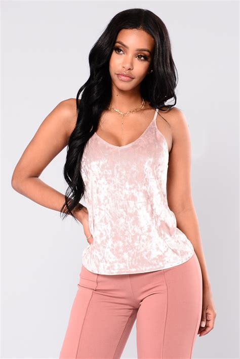 Free Ongkir Restock Best Seller Camisole Dusty Pink Tammi Top Dusty Pink