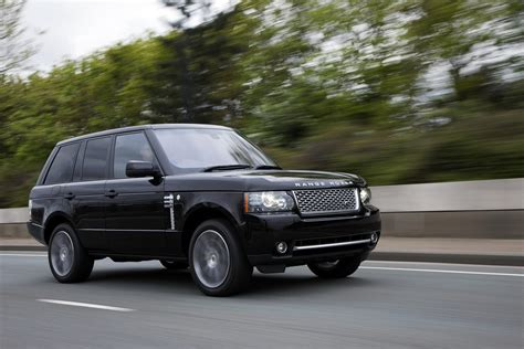 Wallis Launch Their W A Limited Edition Range by 2010 Range Rover Autobiography Black Limited Edition
