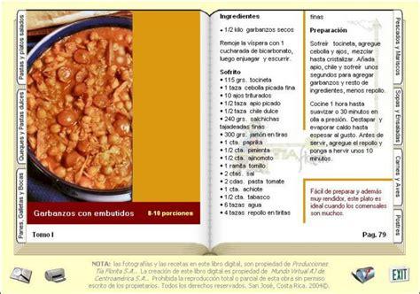 libro preparacion dele libro mi libro digital de cocina descargar