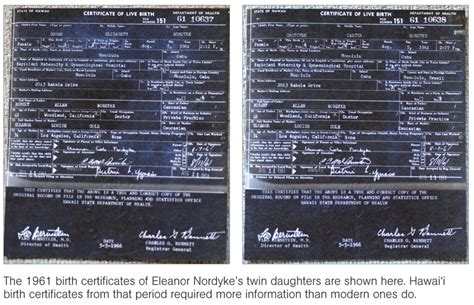 Hawaii Birth Certificate Records Quot Not Only Is Barack Obama Our Black President