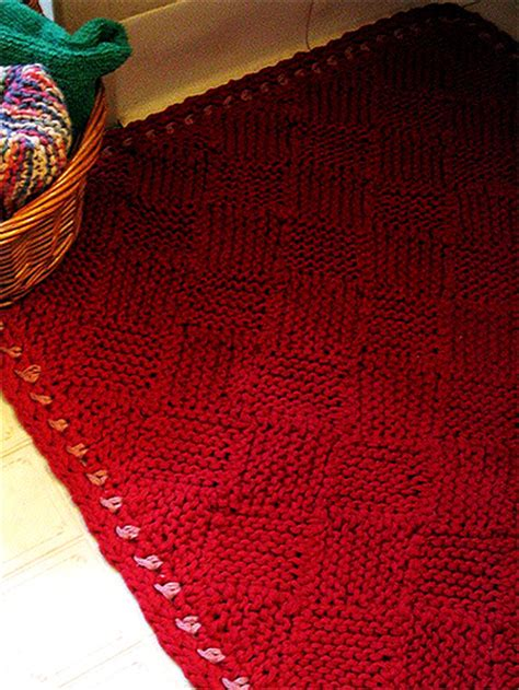 knit rug pattern rug knitting patterns in the loop knitting