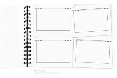 notebook design template paper browser on behance