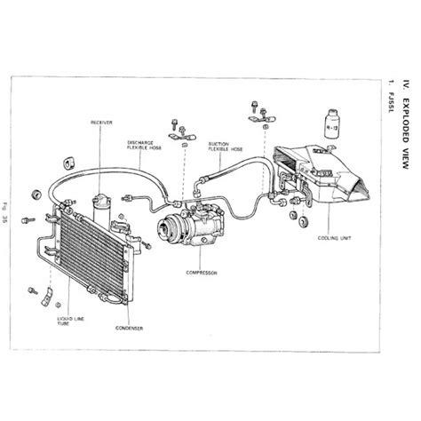 fj 40 land cruiser parts diagram engine diagram and
