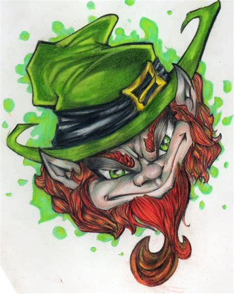 leprechaun tattoos and designs page leprechaun ideas and leprechaun designs page 3